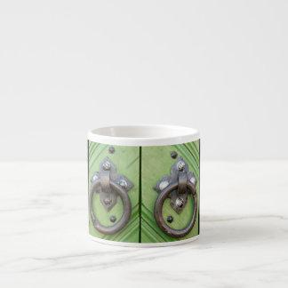 Old door espresso cup