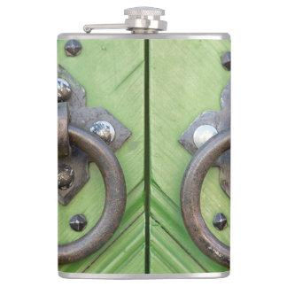 Old door flask