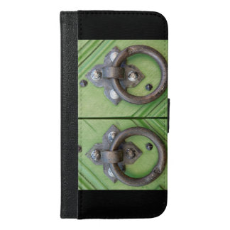 Old door iPhone 6/6s plus wallet case