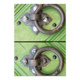 Old door magnetic card