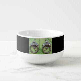 Old door soup mug