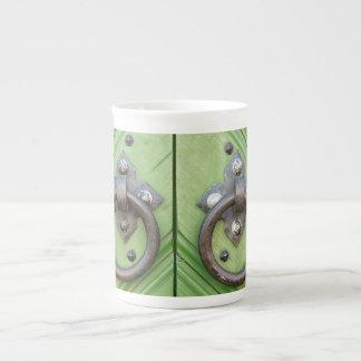 Old door tea cup