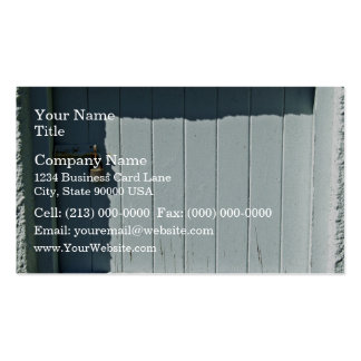 Old door with lock business card template