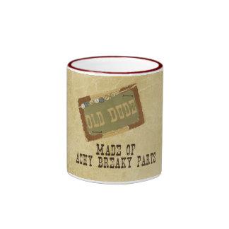 Old Dude Ringer Mug
