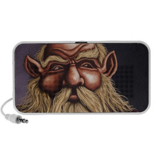 old dwarf fantasy iPod speakers
