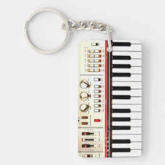 Old Electric Keyboard Key Ring