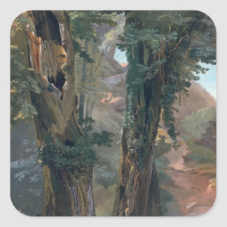 Old Elms, c.1835 Square Sticker