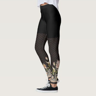 Old Embroidery Leggings