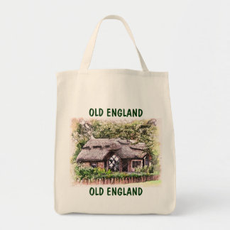 OLD ENGLAND GROCERY TOTE BAG
