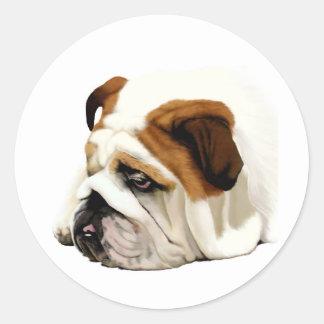 Old English Bulldog Stickers