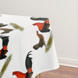 Old English Game Bantams:  BB Red Pair Tablecloth