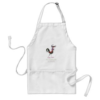 OLD ENGLISH GAME HEN, tony fernandes Aprons