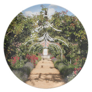 Old English garden Plate