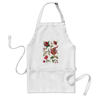 Old English Jacobean Embroidery Standard Apron