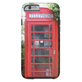 Old English Red Telephone Box Tough iPhone 6 Case