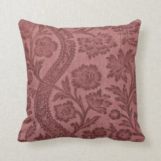Old English Rose Pattern Pillow