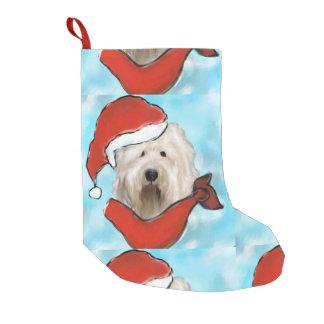 Old English Sheep Dog Small Christmas Stocking