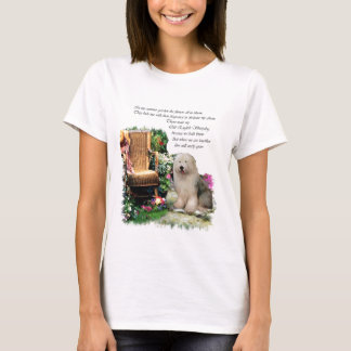 Old English Sheepdog Art Gifts T-Shirt