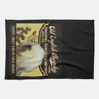 Old English Sheepdog Brand – Organic Coffee Compan Tea Towel