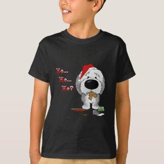 Old English Sheepdog Christmas T-Shirt
