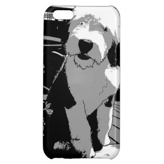 Old English Sheepdog Cover For iPhone 5C