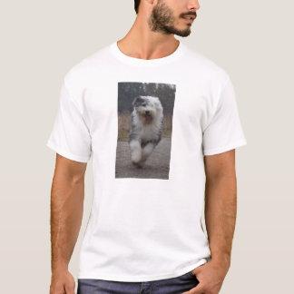 Old English Sheepdog Tee - Run Dog!
