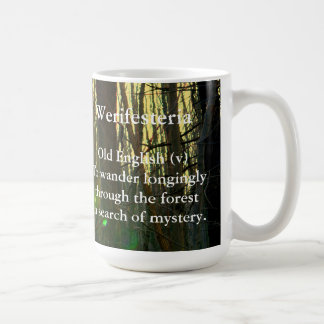 Old English-Werifesteria Coffee Mug