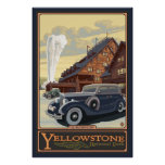 Old Faithful Inn - Yellowstone Nat'l Park Poster