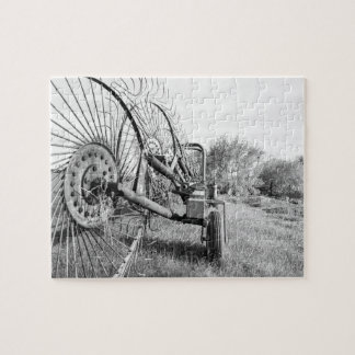 old farm machinery puzzle