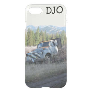 Old Farm Truck and your Initials iPhone 7 Case