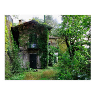 Old Farmhouse Postcard