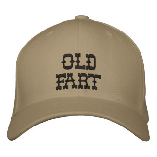Old Fart Embroidered Baseball Caps