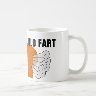 OLD FART, Funny Over-The-Hill Birthday Coffee Mug