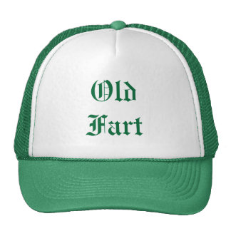 Old Fart hat -- green