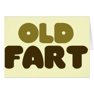 Old Fart Note Card