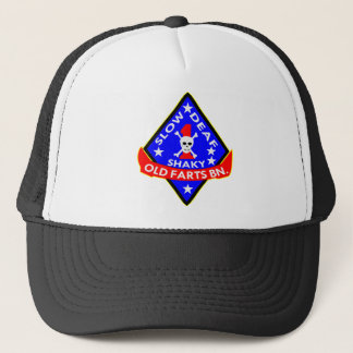 Old Farts Battalion Slow Shaky Deaf Trucker Hat