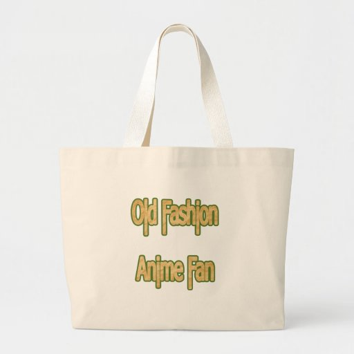 Old Fashion Anime Fan Canvas Bag