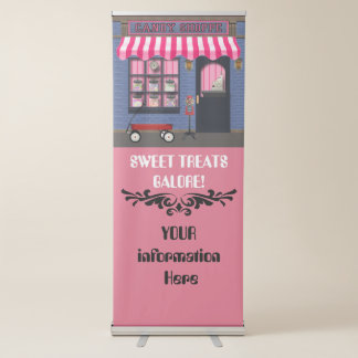 Old Fashion Candy Shoppe Business Banner