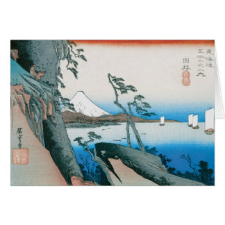 Old Fashion Japanese Art Card
