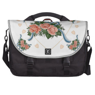 Old Fashion Roses Bags For Laptop