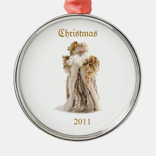Old Fashion Santa 2011 Ornament