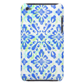 Old Fashioned Blue and White China Pattern iPod Touch Covers