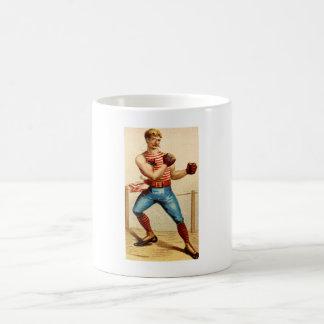 Old Fashioned Boxer Boxing 1800's Coffee Mug