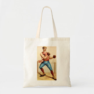 Old Fashioned Boxer Boxing 1800's Tote Bag