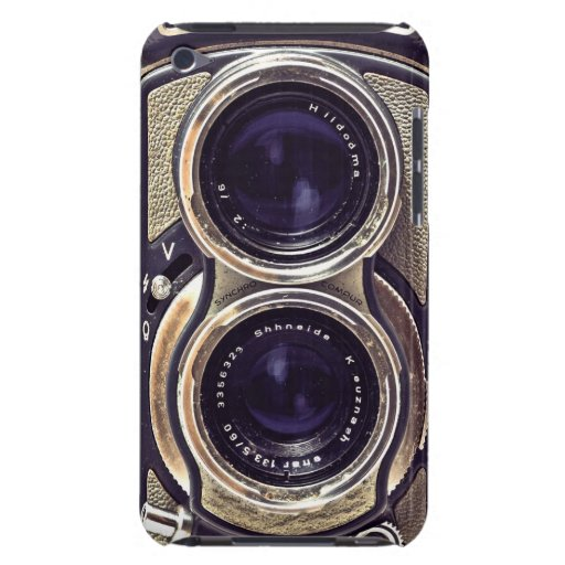Old-fashioned camera iPod Case-Mate cases