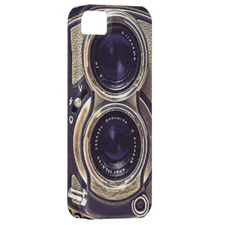 Old-fashioned camera iPhone 5 cover