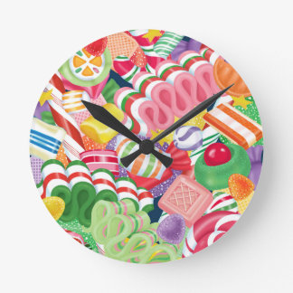 Old Fashioned Christmas Candy Clock