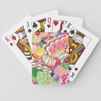 Old Fashioned Christmas Candy Playing Cards