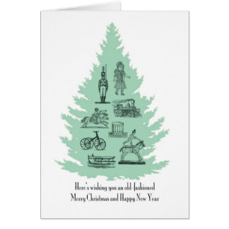 Old Fashioned Christmas note card