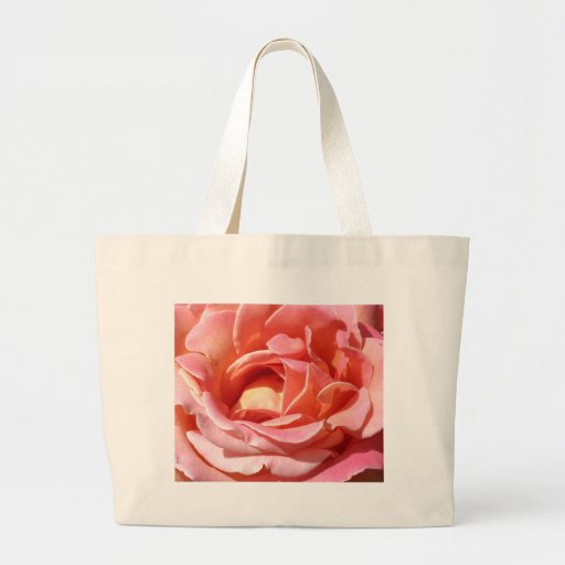 Old Fashioned Climbing Rose Canvas Bag